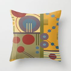 PA8 Throw Pillow by Shelly Bremmer - $20.00