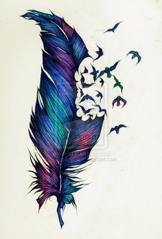 this would definitely be the only colored tattoo id want