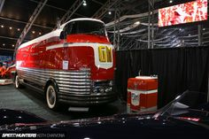 GM Futurliners were a group of custom vehicles, styled in the 1940s by Harley Earl for General Motors
