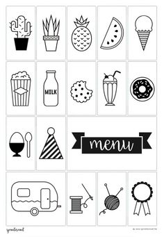 Symboles lightbox