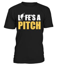 Life's a pitch   => Check out this shirt by clicking the image, have fun :) Please tag, repin & share with your friends who would love it. #basketball #basketballshirt #basketballquotes #hoodie #ideas #image #photo #shirt #tshirt #sweatshirt #tee #gift #perfectgift #birthday #Christmas