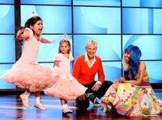 These girls are so cute! They got to meet their idol, Nicki Manaj, on Ellen!