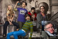 Stephen Hawking to guest star in Big Bang Theory on April 5th.
