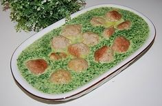 Pulpety z indyka w zielonym sosie