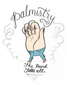 The hand tells all. Tuesday Bassen