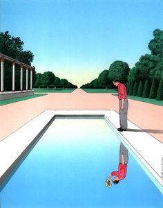 Inspirations: Guy Billout, illustrator