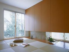 Japanese Home Design, Japanese House, Washitsu, Japan Interior, Interior And Exterior, Interior Design, Inspired Homes, Contemporary Architecture, House Design