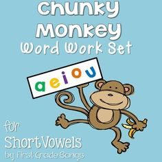 Young readers need lots of practice reading, building, and writing simple words with short vowels.  This product is full of resources that are ready to PRINT and GO for use in your primary classroom!  This Word Work Set includes the following resources: - 80 color word sorting cards with words, pictures, plus short vowel headers - 80 color sound boxes for building words with magnet letters or dry erase markers - 12 printables for practice building and manipulating words with short ...