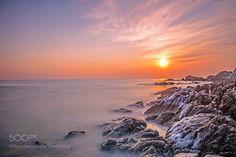 Sunrise by whwen0112 #nature #mothernature #travel #traveling #vacation #visiting #trip #holiday #tourism #tourist #photooftheday #amazing #picoftheday