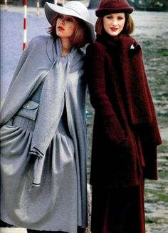 Sonia Rykiel. L'Officiel magazine 1975 70s Fashion, Fashion History, High Fashion, Vintage Fashion, Fashion Magazines, Womens Fashion, Fashion Show, Fashion Design, Sonia Rykiel