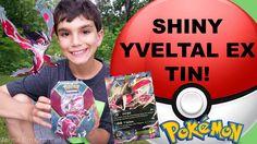 #VIDEO: #Pokemon Shiny Yveltal EX Kalos Tin Opening! Jenna Em Channel WATCH: https://youtu.be/4fT1bcZRMts