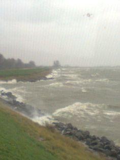 storm IJsselmeer