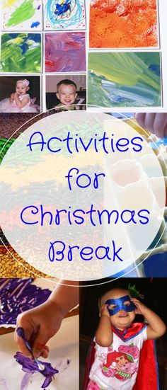 I like to have lots of things for the family to do over the holidays. Here are 30 things to do on Christmas break that don't cost much or require planning.