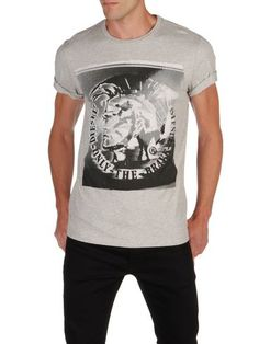 DIESEL - T-Shirt - T9-MOHICAN