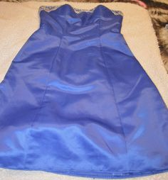 MYSTIQUE DRESS BLUE SIZE 8 PREVIOUSLY LOVED