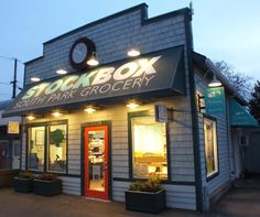 Exterior Lighting Plays Important Role for Neighborhood Grocery
