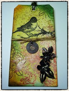 Tim Holtz tag--May 2009
