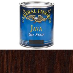 General Finishes, Java Gel Stain, Quart  The best wood stain!