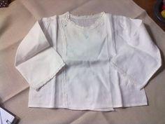 lúcciac8 antiguidade casaquinhos camisa pagão recém nascido