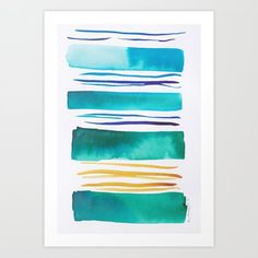 Lines & Color Block Series October 2018 Abstract Art For Sale, Abstract Canvas Art, Canvas Art Prints, Watercolor Art Paintings, Watercolor Artists, Watercolor Print, Pastel Watercolor, Painting Art, Watercolors