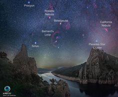 El cielo estrellado del Parque Nacional de Monfragüe (Cáceres), elegido foto del día de la NASA