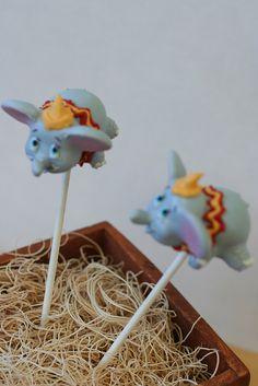 Dumbo Cake Pops by Sweet Lauren Cakes, via Flickr