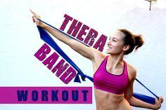Theraband Übungen / Gummiband Workout - Gelenkschonend den ganzen Körper...