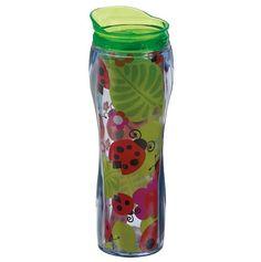 I want this! Lady Bugs 14oz Insulated Travel Mug