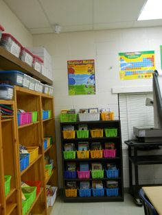 Classroom Library and Science Posters