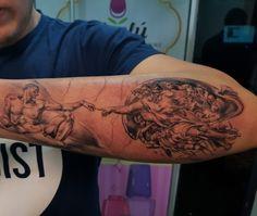 The Creation #tatto #ink #lacreacion #tatuaje #MiguelAngel