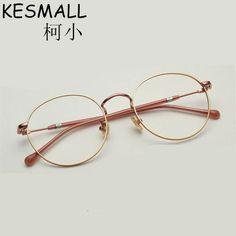 e3c95d80727 Price tracker and history of 2017 Optical Light Glasses Metal Frame Women  Men Fashion Myopia Eyeglasses Frames Female Oculos De Grau Vintage Eyewear