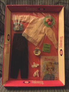 IDEAL TAMMY DOLL CLOTHES SET #9152-0-350 Ring A Ding NRFB #Ideal