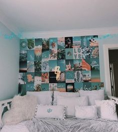 Zimmer Ideen aesthetic photo wall be harmful to your garden. Cute Bedroom Ideas, Cute Room Decor, Room Ideas Bedroom, Girl Bedroom Designs, Teen Room Decor, Bedroom Decor, Bedroom Inspo, Bedroom Wall Collage, Bedroom Wall Pictures
