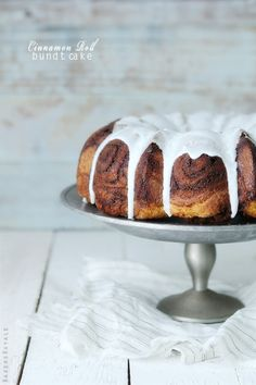 Cinnamon Roll Cake from @Bakers Royale