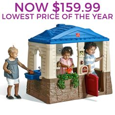 Neat & Tidy Cottage™  by Step2 is one of most popular Playhouses products for children. View and shop now