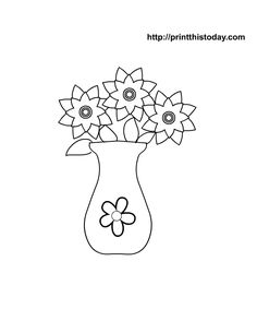I have made some free printable mother's day coloring pages that will be loved by kids and their moms. Teachers can use these free printable pages in class Flower Applique Patterns, Embroidery Patterns, Mothers Day Drawings, Mothers Day Coloring Pages, Flower Line Drawings, Fish Coloring Page, Mothers Day Crafts, Coloring Books, Colouring
