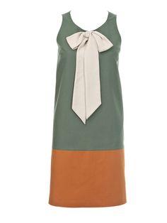 Kleid - Schluppe, Nahttaschen 109 0712 B