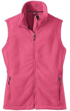 Womens Soft and Cozy Fleece Vests in 8 Colors: Sizes XS-4XL at Amazon Women's Coats Shop