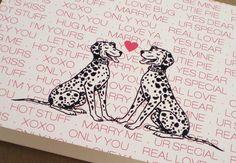 Puppy Love #Valentine's Card