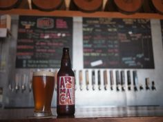 Aroma Coma IPA from Drake's Brewing in San Leandro, CA. Available only during the summer, Aroma Coma is delicious.