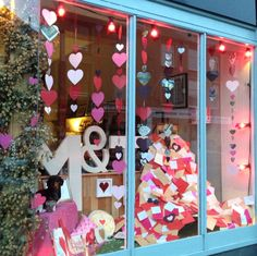 Valentines Window at Glosters 2015