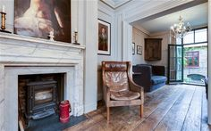 In pictures: a beautiful Georgian home in Spitalfields, east London - Telegraph