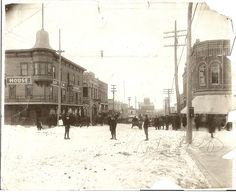 Is that the Greystone on the left in this old photo?