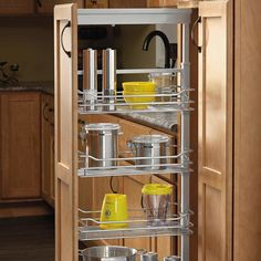 "Rev-A-Shelf 6 Basket Pantry 73-5/8"" - 80-3/4"" H Chrome 5773-14 CR"