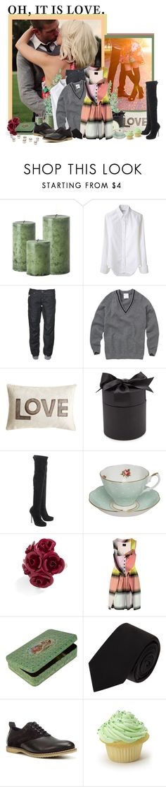 """""""<3 <3 <3"""" by peonyandpython ❤ liked on Polyvore featuring He Loves Me, Thom Browne, Voi Jeans, Maison de Vacances, D.L. & Co., ALEXA WAGNER, Royal Albert, Vivienne Westwood Anglomania, CO-OP Barneys New York and Zara"""