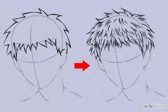 Image intitulée Draw Anime Hair Step 20