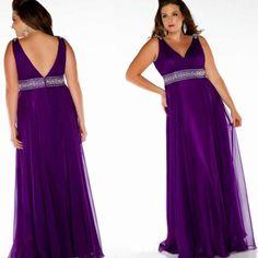 Plus size bridesmaid dresses purple - http://pluslook.eu/dresses/plus-size-bridesmaid-dresses-purple.html. #dress #woman #plussize #dresses