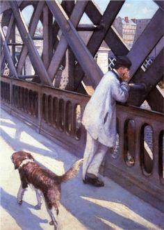 Le Pont de L'Europe - Gustave Caillebotte, Petit Palais, Geneva, Switzerland