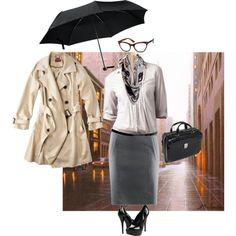 Siamod's Settembre - look stylish...even in the rain!