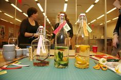 @Michelle Edgemont's Infused Vodkas: The final product! #pinspirationparty